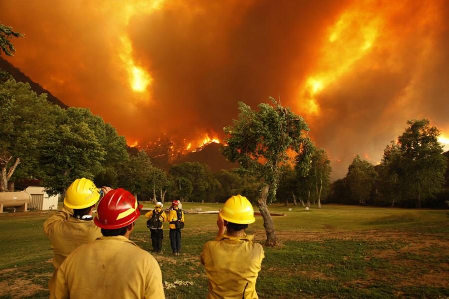 powerhouse fire, firefighters watch, 6-1-13