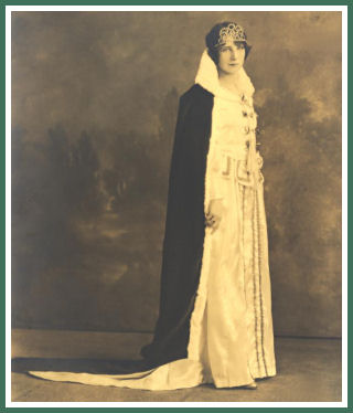 Bernice Lukazewski represents the Polish community in 1930