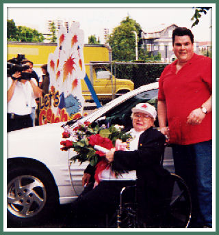Grandma Gloria and Larry Pisha in 1999
