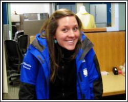 2010 Rose Festival - Karen in jacket