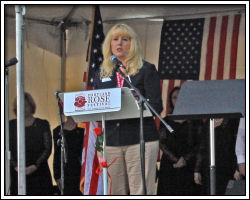 2010 Memorial Day Ceremony - Marilyn Clint