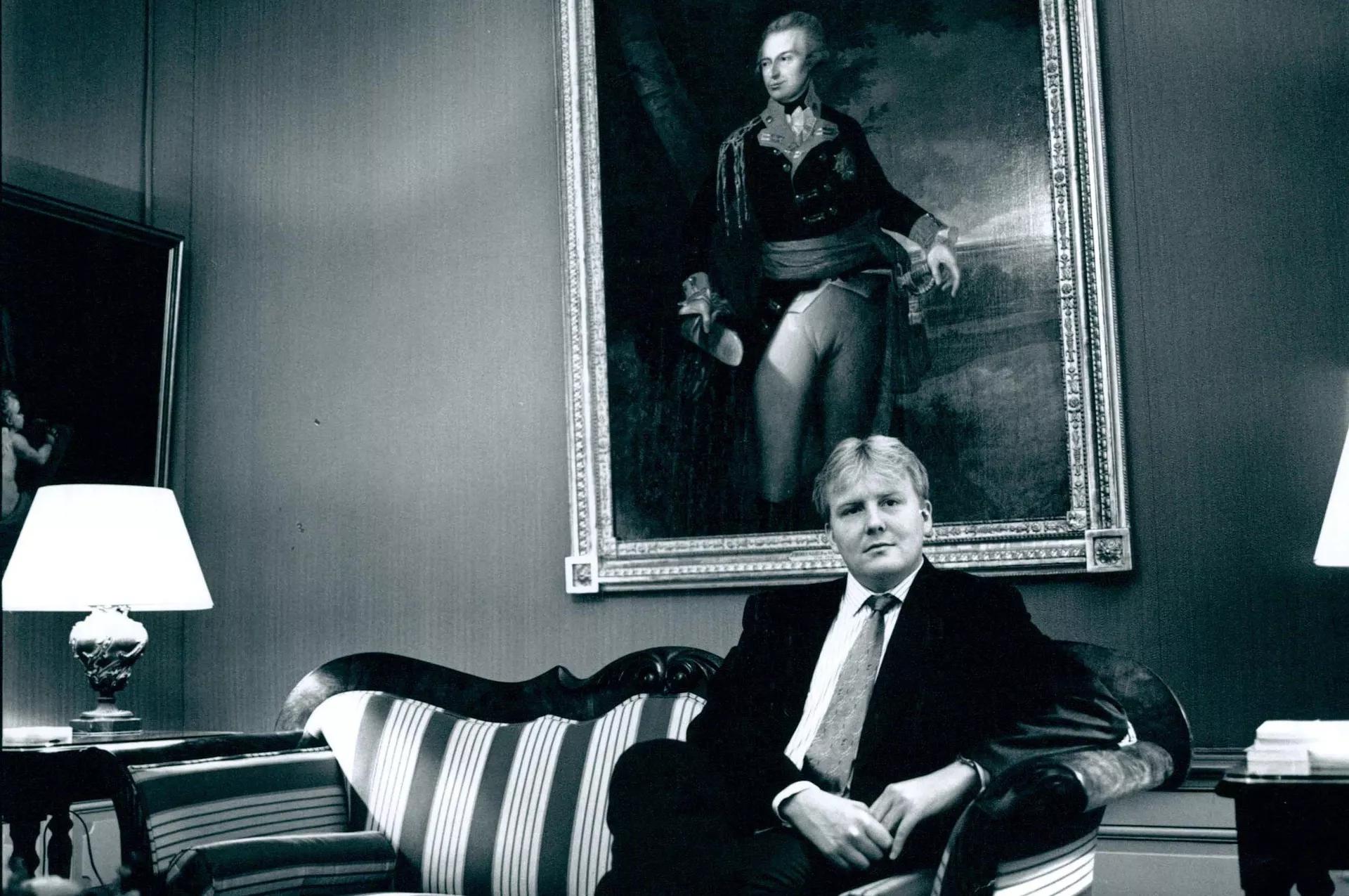 Виллем-Александр, тогда еще наследный принц, 27 лет, в интервью не ожидал королевского сана: «Нет, конечно, нет».