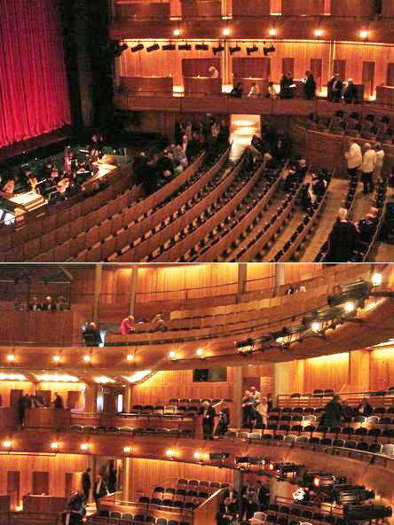 Театральный зал в отдельно стоящем доме оперы