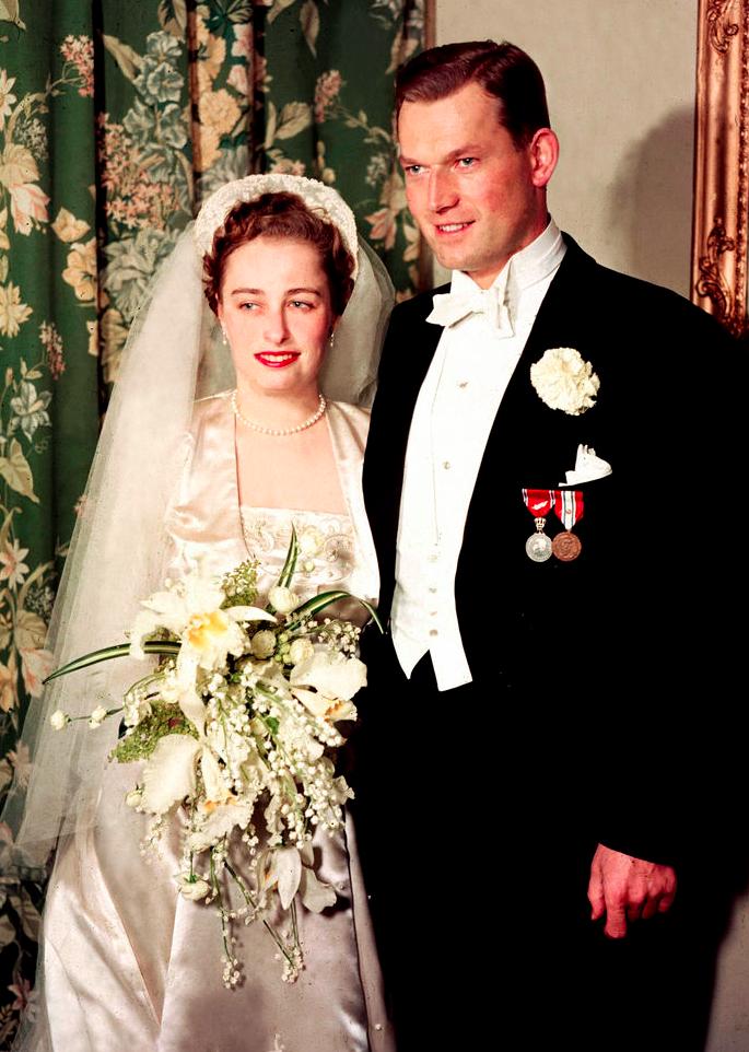 Свадьба в 1953 г.