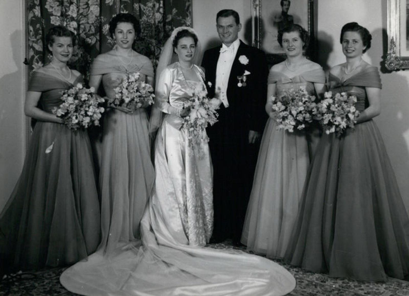 Свадьба в 1953 г