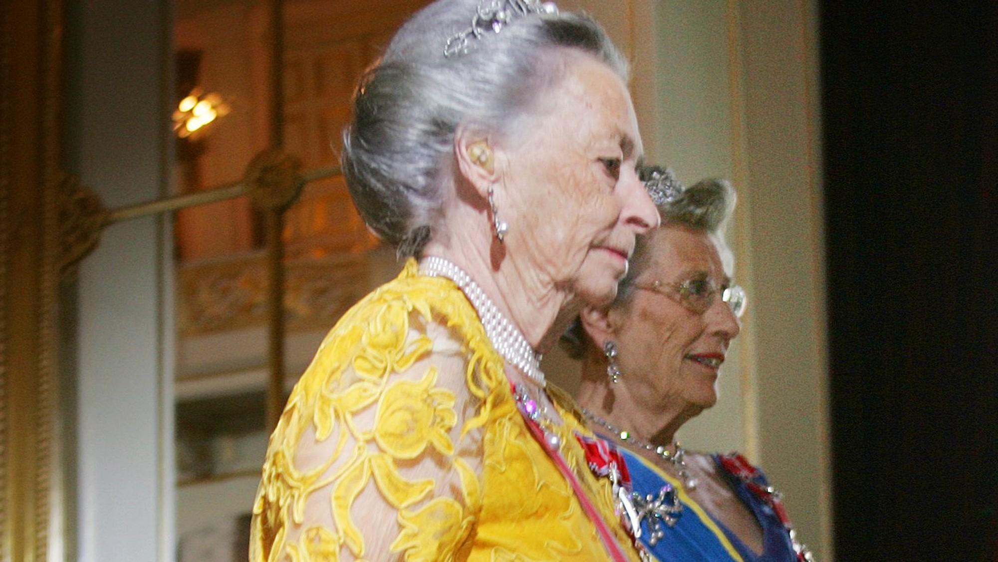 Принцессы Ragnhild и Astrid