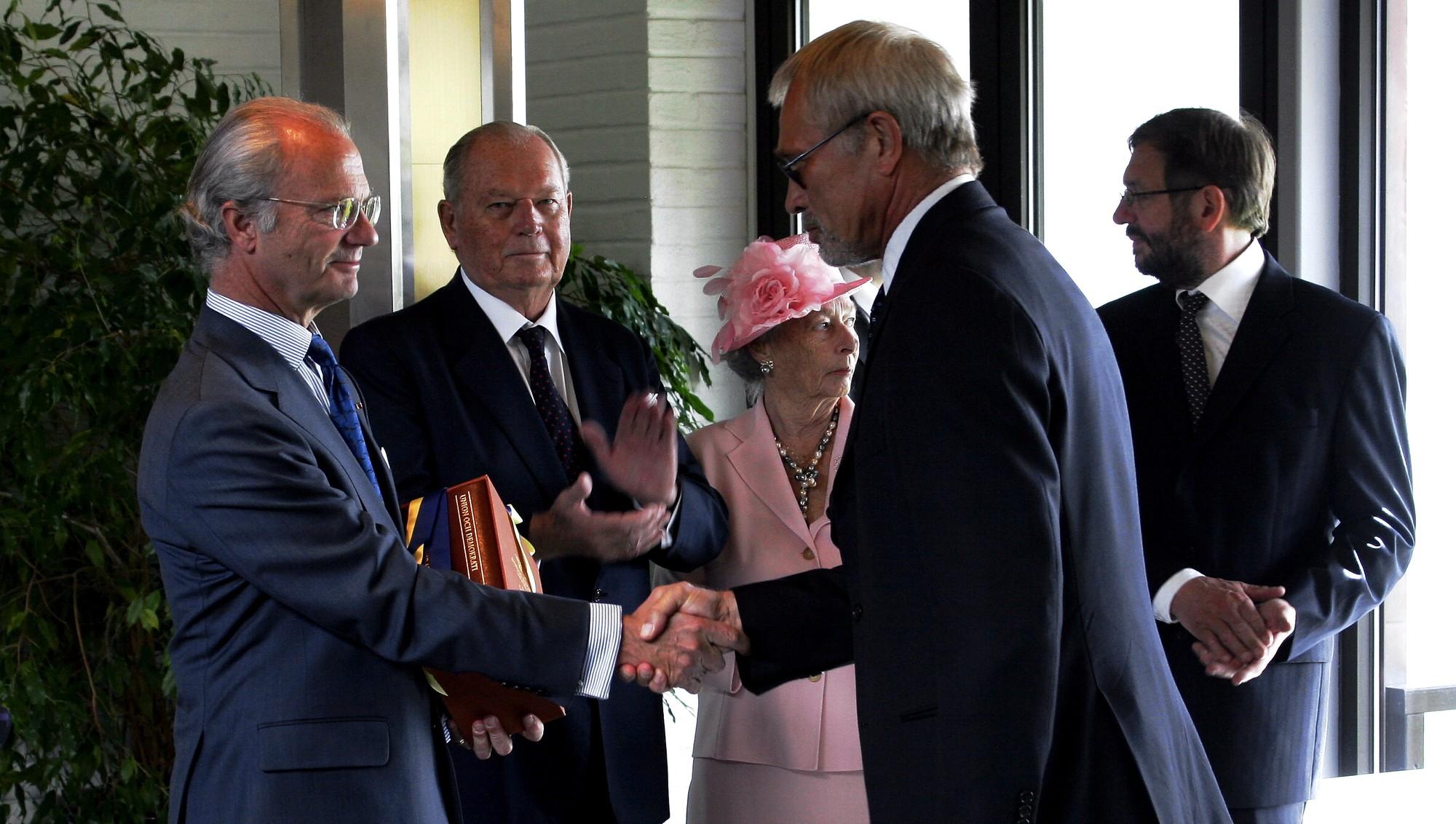 Супруги участвовали в торжественном событии, посвященному 100-летию мирного роспуска шведско-норвежского союза