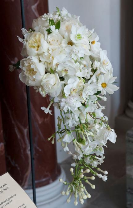 Букет шведской кронприцессы Виктории на венчании с Даниелем Вестлингом, 2010 г