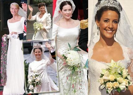 Королевские свадебные букеты...