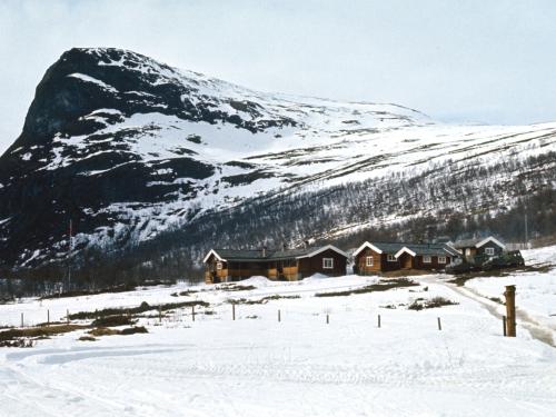 Prinsehytta в Sikkilsdalen (1974). Foto: Svein Hammerstad, Scanpix