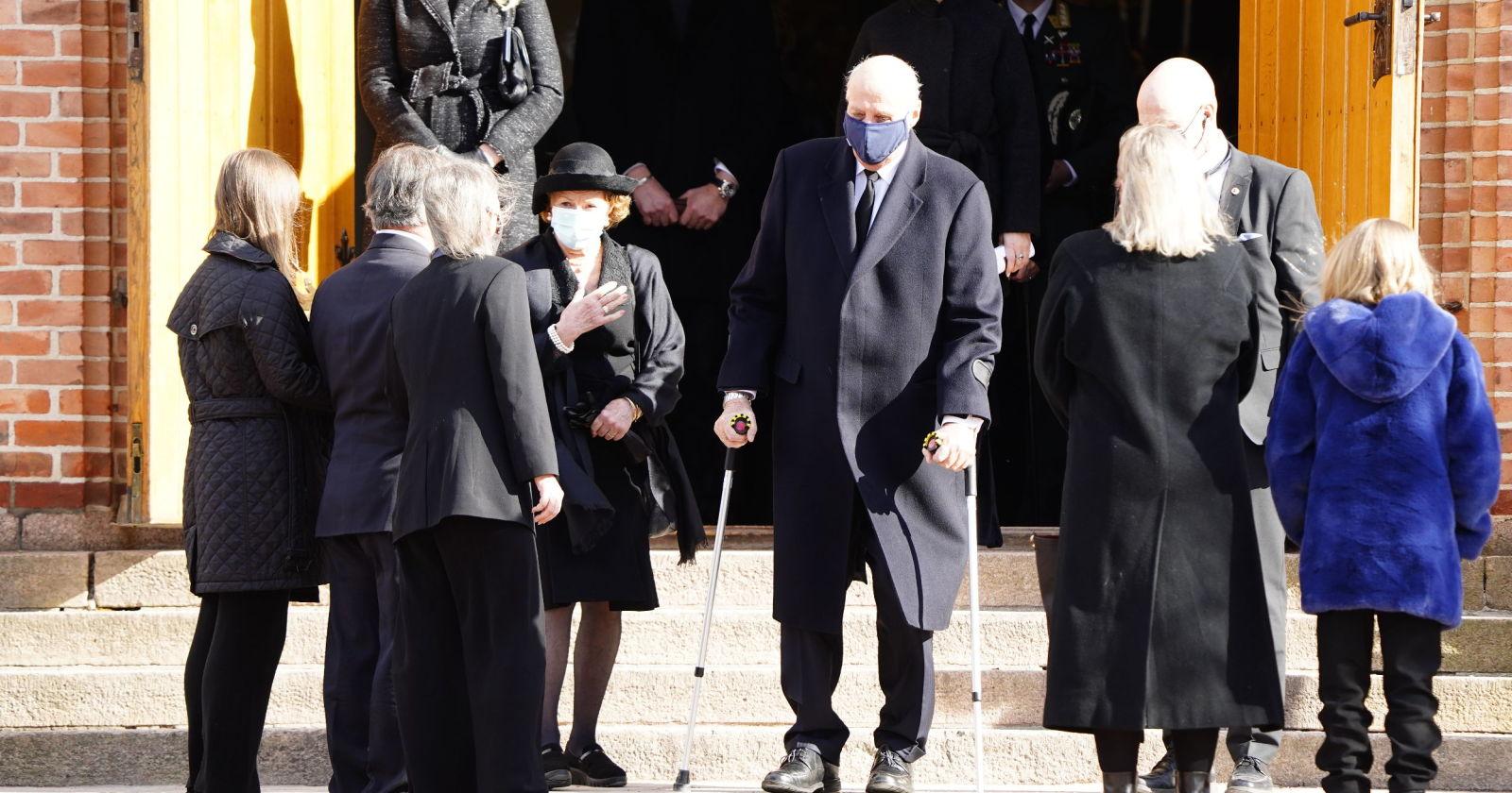 Похороны зятя короля Erling Lorentzen на этой неделе