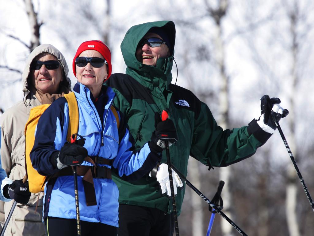 Харальд, Соня и один из близких друзей, в предыдущие пасхальные катания, Prinsehytta, Sikkilsdalen