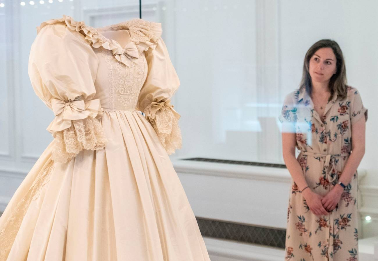 Свадебное платье Дианы, 1981 Г