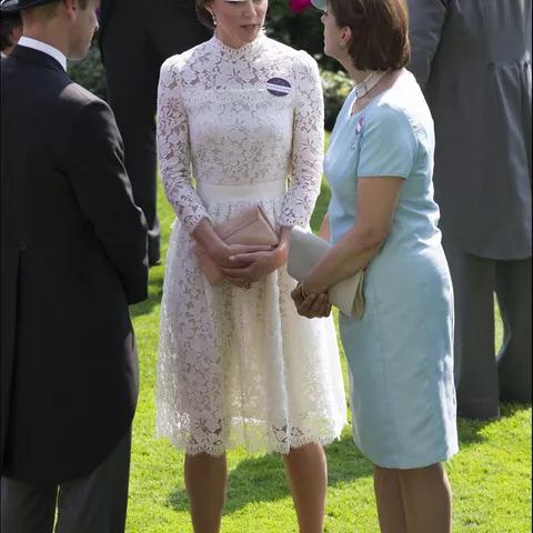 Герцогиня Кэтрин в 2017 г, Аскот