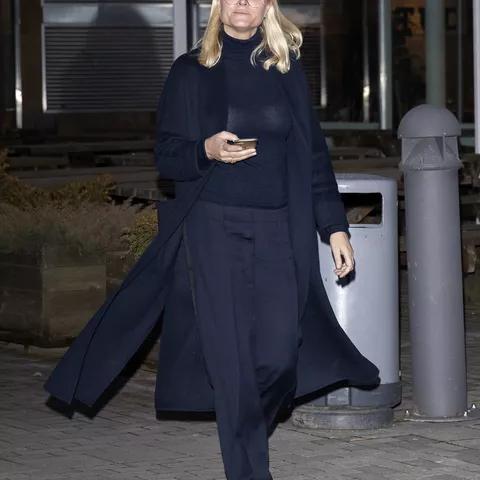 Норвежская кронпринцесса Метте-Марит, октябрь 2019 г.