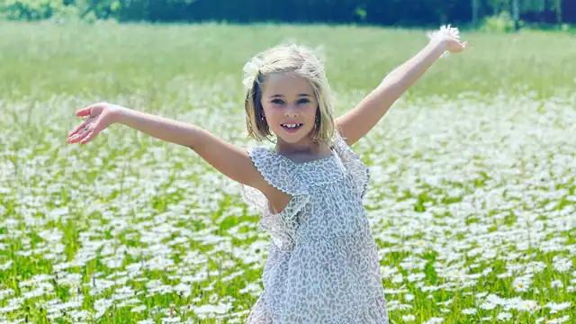 Принцесса Леонор, 7 лет, на шведской земле — в самое красивое время года)
