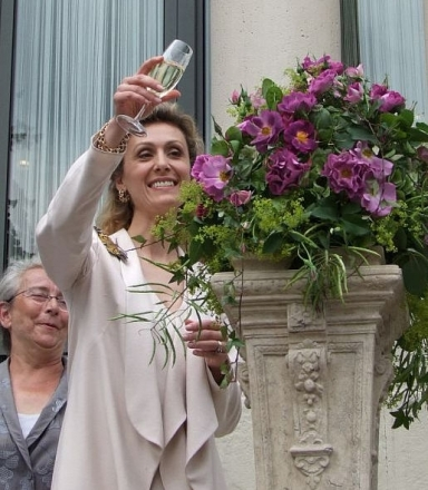 "Роза ""Принцесса Сибилла Люксембургская"" (""Princess Sibilla de Luxembourg"", Climbing Roses)"