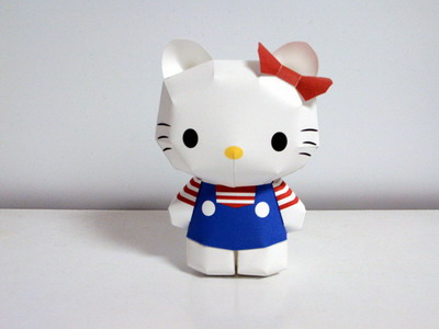 Arts and Crafts » Birthday Cards & Origami Boxes Hello Kitty!