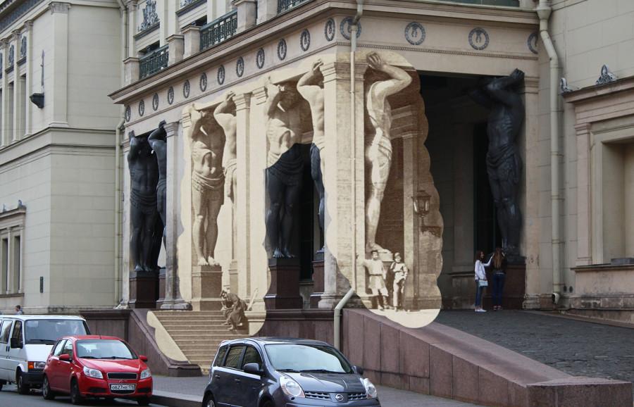 Петербург в разрезе: сейчас и 100 лет назад