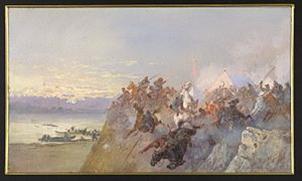 Николай Каразин. Ирменское сражение