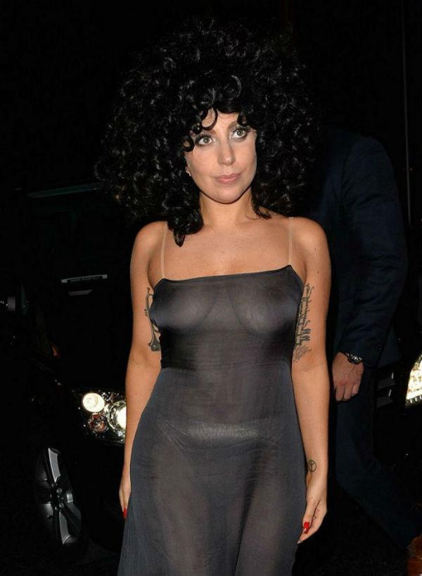 11-Леди Гага на вечеринке в Belgium Jazz Club L'Archiduc - 2014.jpg