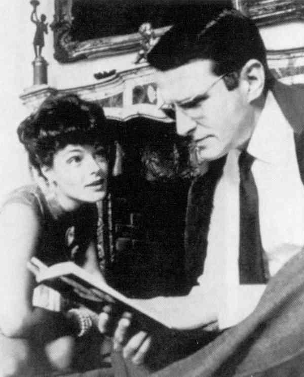 Роми с первым мужем Харри Мейеном (Хаубенштоком), (1924-1979).jpg