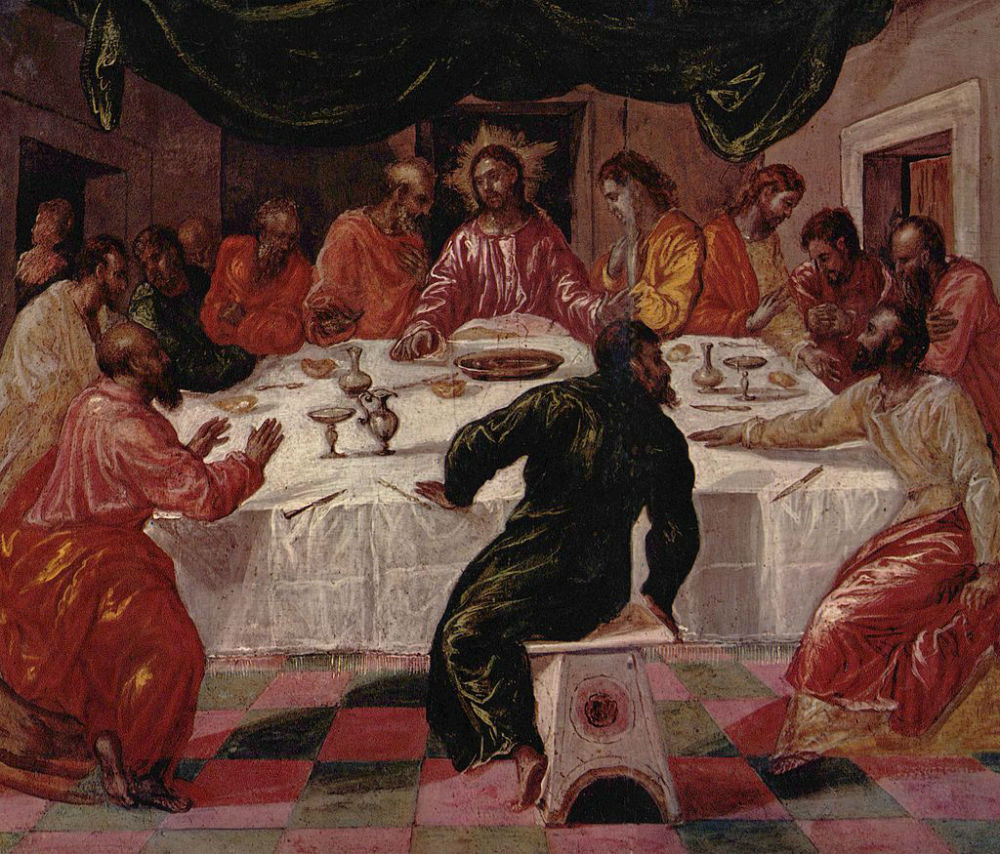 Эль Греко - Тайная вечеря.jpg