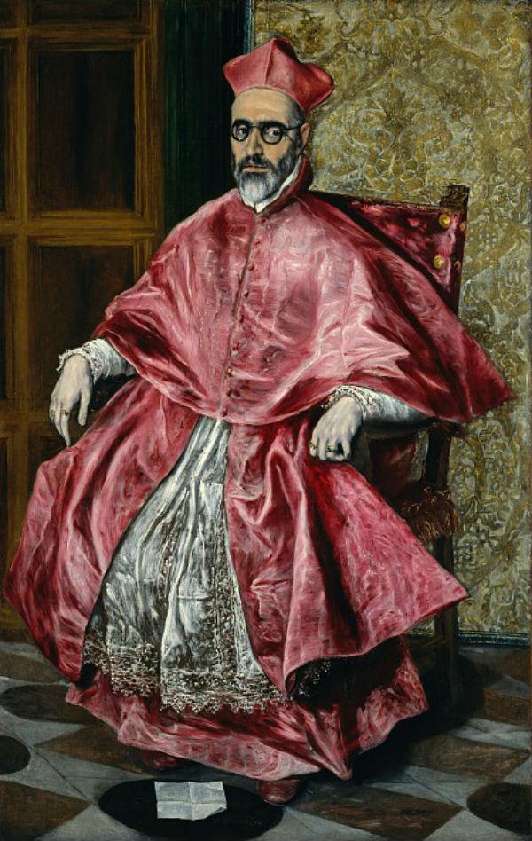 Эль Греко - Портрет кардинала Фернандо Ниньо де Гевары.jpg