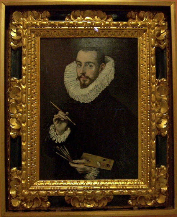 Эль Греко -  Портрет Хорхе Мануэля Теотокопулоса сына художника - 1597- 1603.jpg
