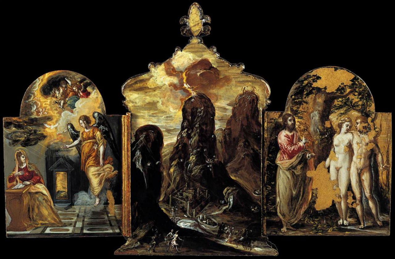 Моденский триптих - приписывается Эль Греко.jpg