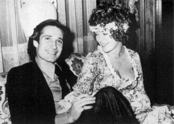 Роми со вторым мужем Даниэлем Биазини (родился в 1947 году).jpg