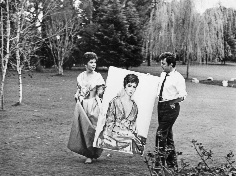 Джина Лоллобриджида и Илья Глазунов - 1963.jpg