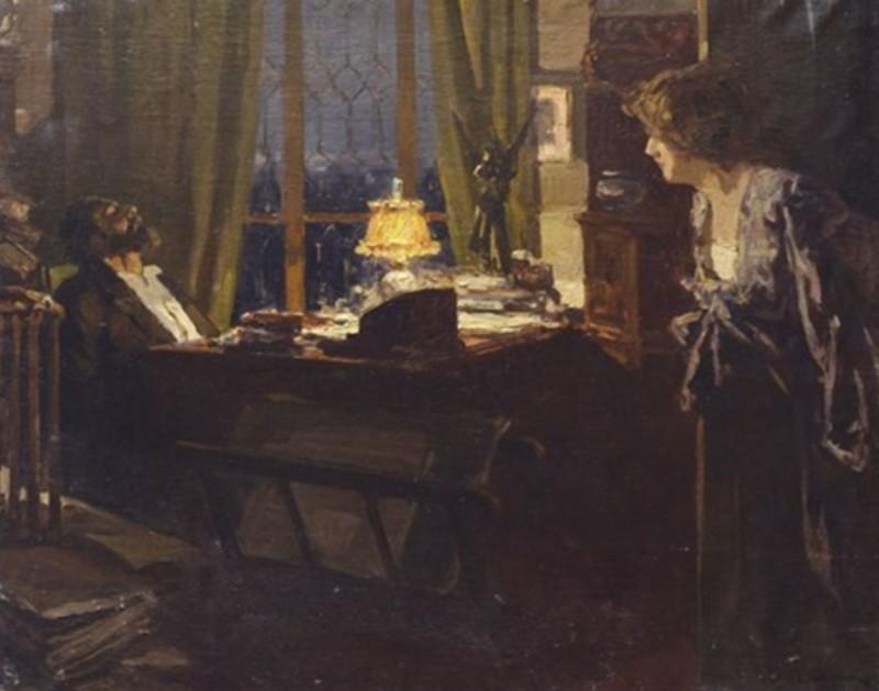 Жена поэта  - (La moglie del poeta).jpg