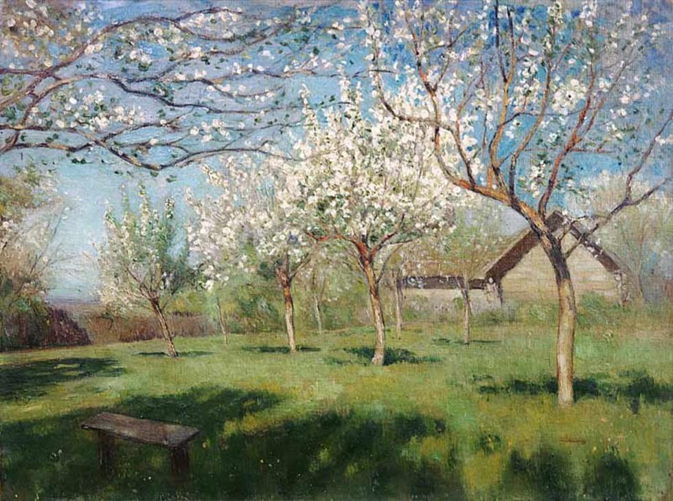 Исаак Левитан - Цветущие яблони.jpg