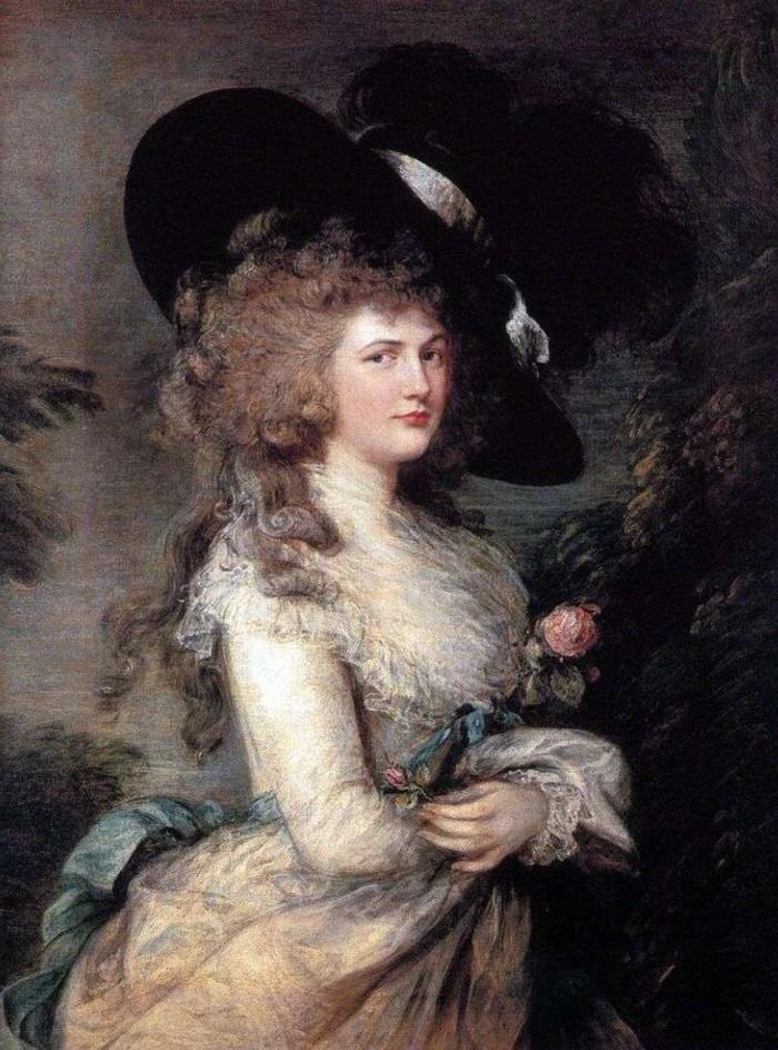 Томас Гейнсборо - Портрет Джорджианы, герцогини Девонширской.jpg