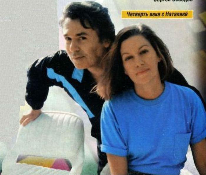 Рафаэль с женой Наталией.jpg