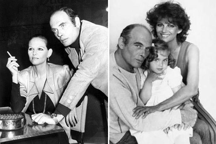 Клаудия Кардинале с мужем и дочерью.jpg