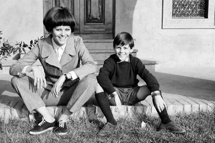 Клаудия Кардинале с сыном Патриком.jpg