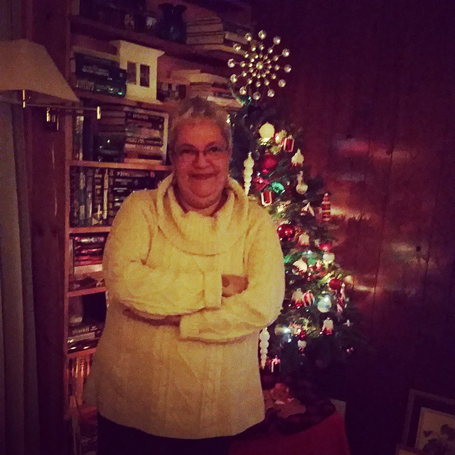 xmas tree and me 2014