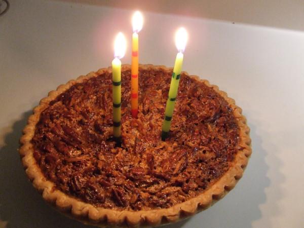 dean's bday pie
