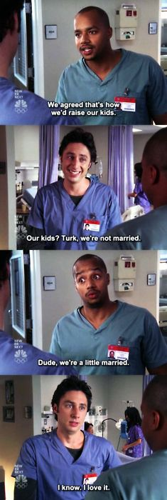 scrubs a lil married