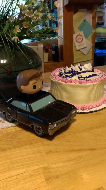 birthday dean and baby