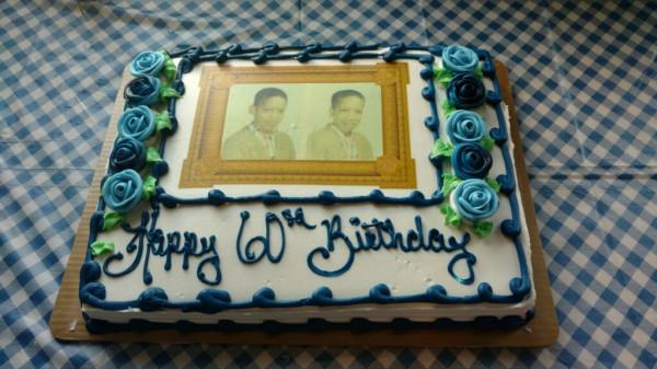 eds 60th cake