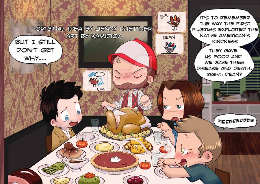 a_supernatural_thanksgiving_by_kamidiox-d7zesax
