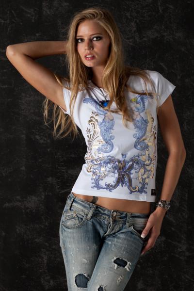 T-Shirt Blue Angel - Front