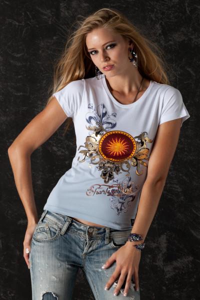 T-Shirt Golden Sun - Front