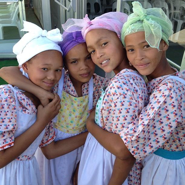 Nama kids in the Northern Cape