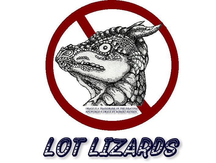 no_lot_lizards_by_kodafalken