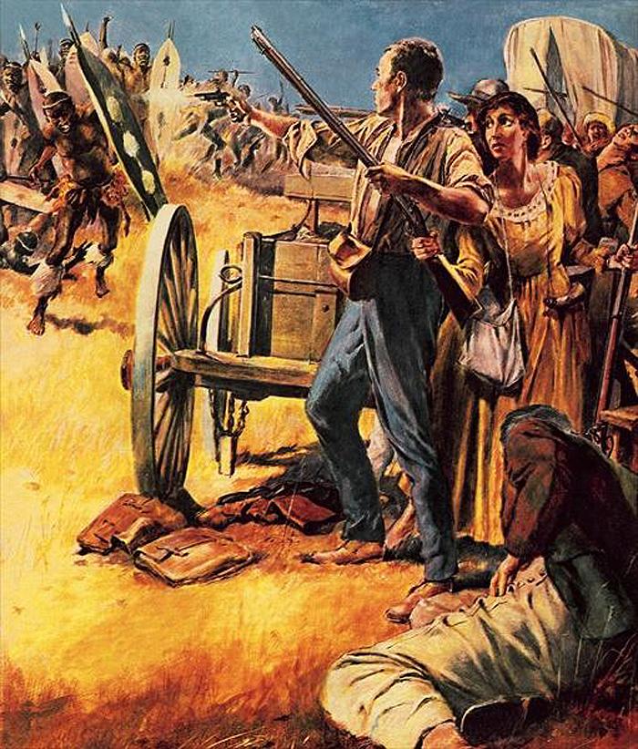 арт история ЮАР Battle of Vegkop 552f2b807561f