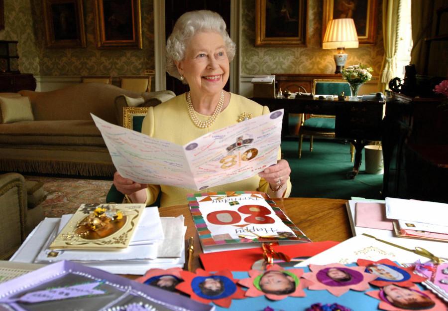 Поздравление от королевы елизаветы 81